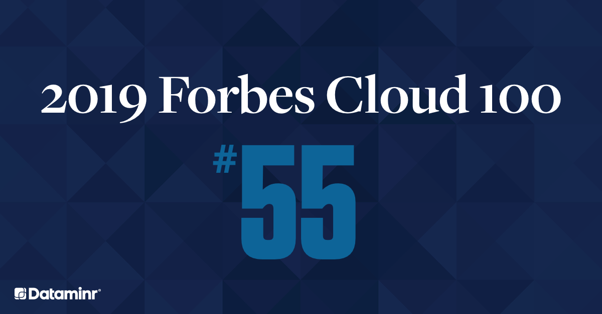 2019 Forbes Cloud 100 Ranking