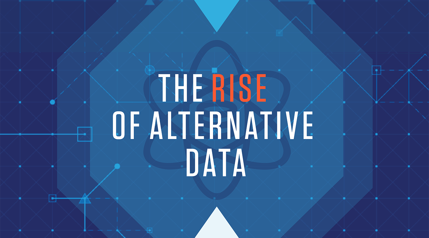 The Rise of Alternative Data infographic hero