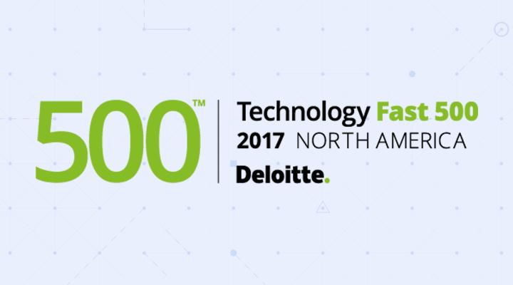 Deloitte's 2017 Technology Fast 500™ Logo