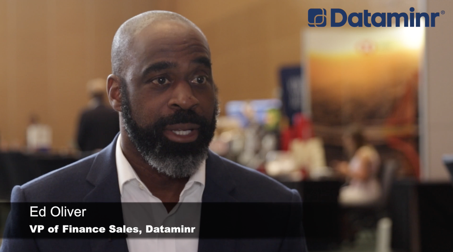 Ed Oliver Dataminr VP Finance Sales