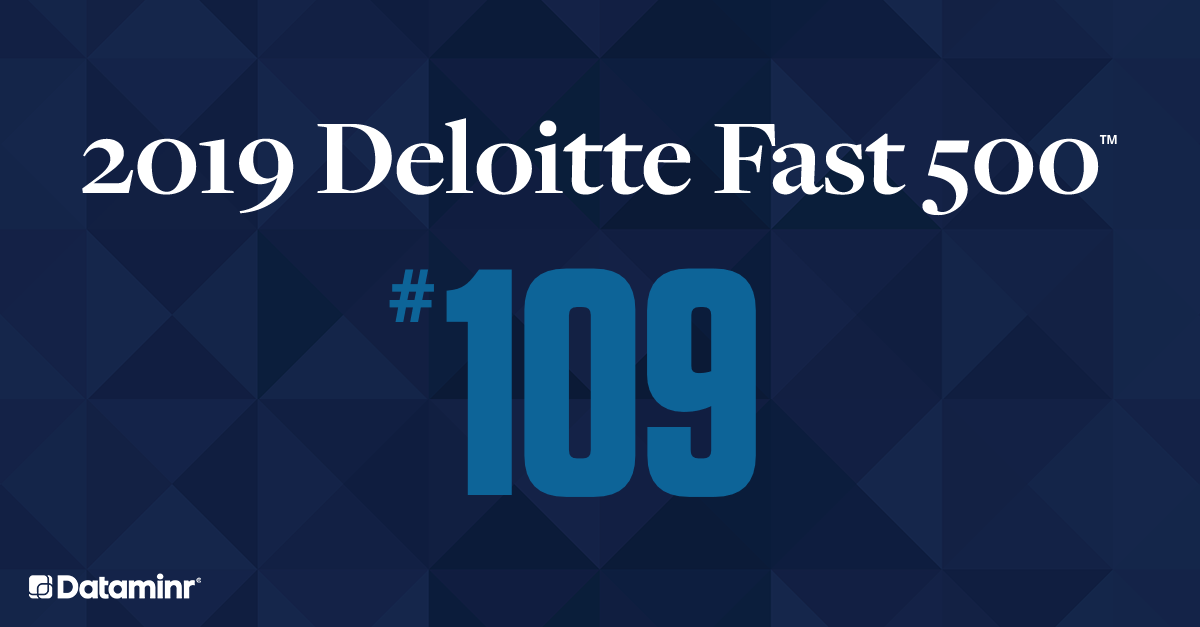 Dataminr Named to Deloitte's 2019 Technology Fast 500™