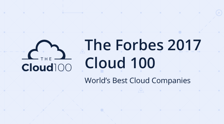 The Forbes 2017 Cloud 100 List Logo