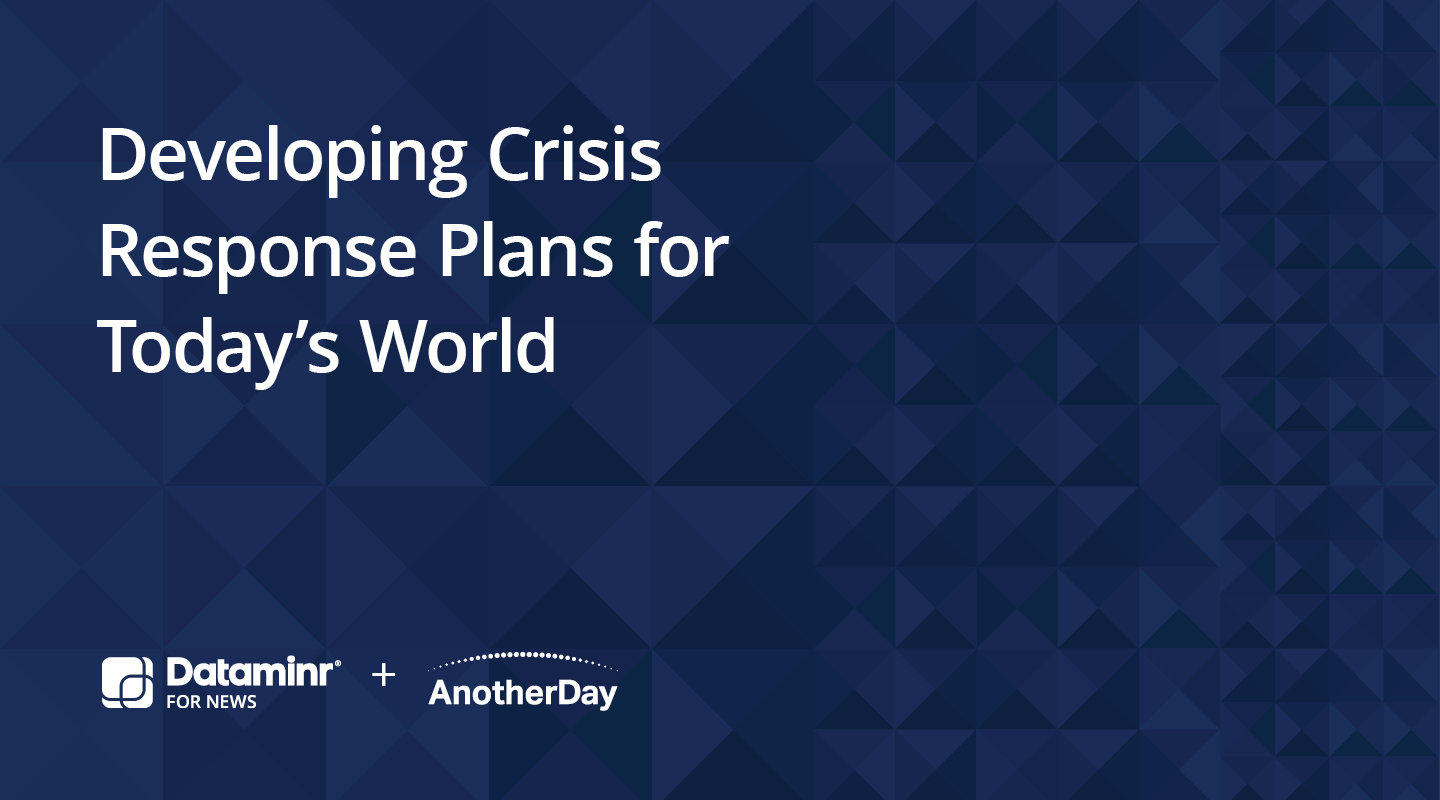 Webinar Developing Crisis Response Plans for Today's World