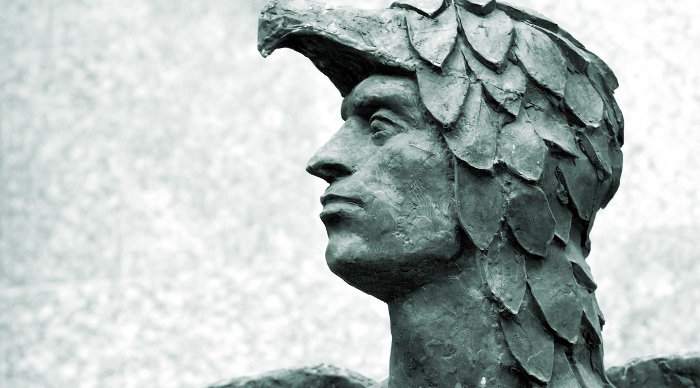 Statue of Icarus.