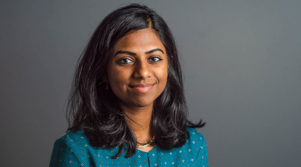 ramya rao dataminr engineer headshot