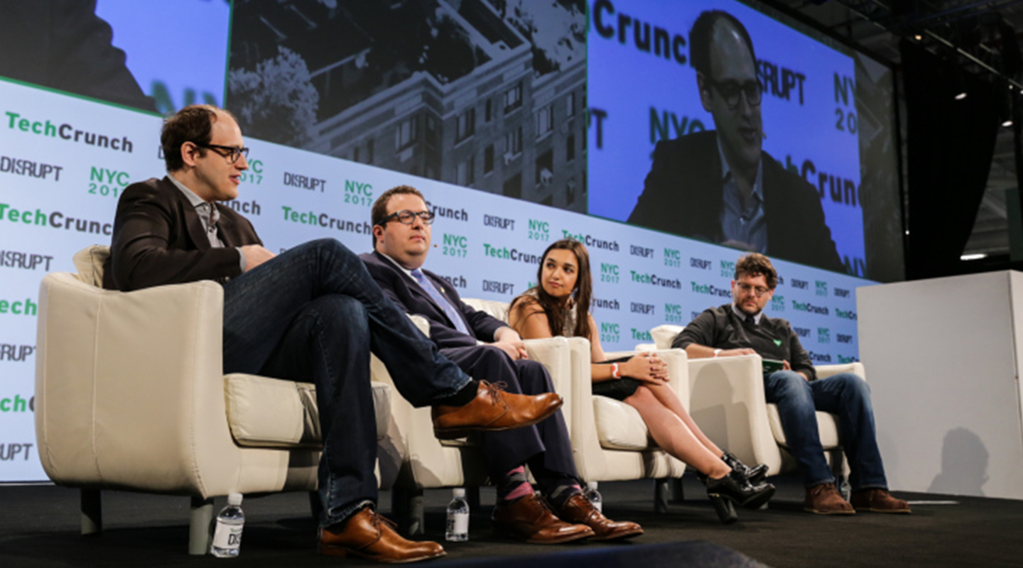 Dataminr's CEO Ted Bailey speaks at TechCrunch Disrupt panel on first-responders.