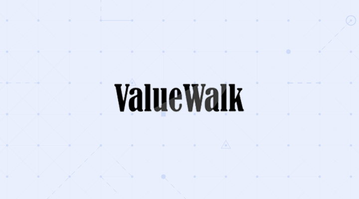 ValueWalk logo Dataminr background