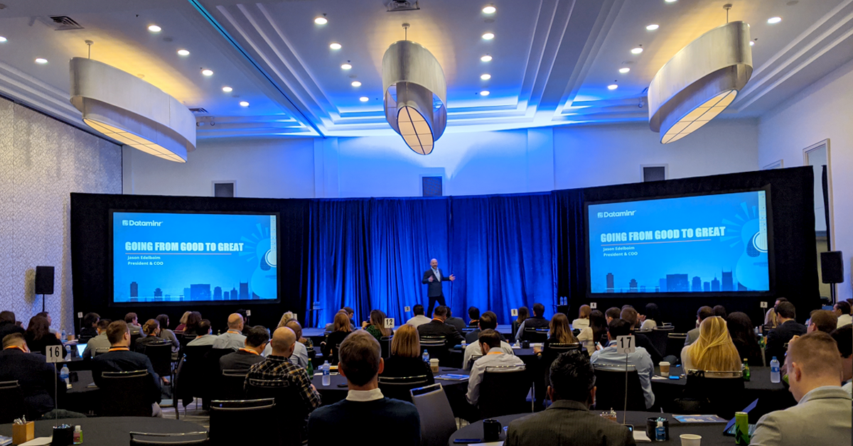 Dataminr 2020 Sales Kick-Off in Nashville, Tennessee